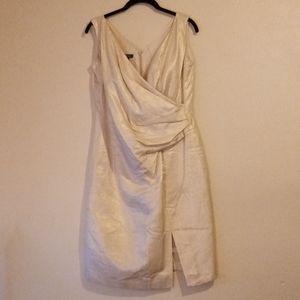 Gold Escada dress